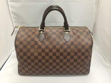 Louis Vuitton Speedy 35 Damier Ebene Bag - Satchel.