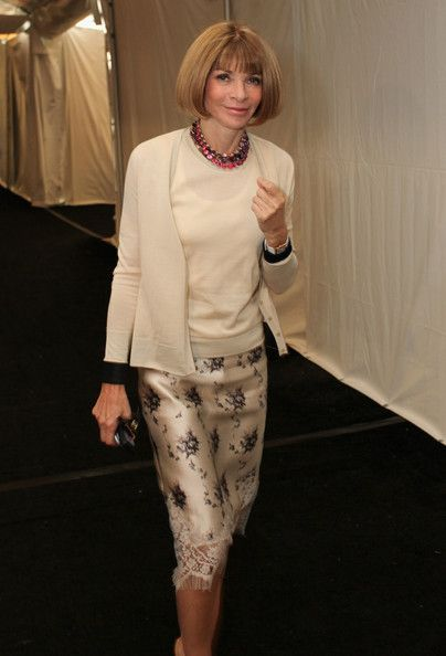 Anna Wintour - MBFW: The Samsung Galaxy Blue Room.