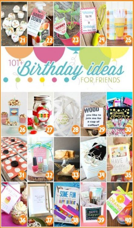 Birthday gifts for best friend crafts free printable 22 super Ideas