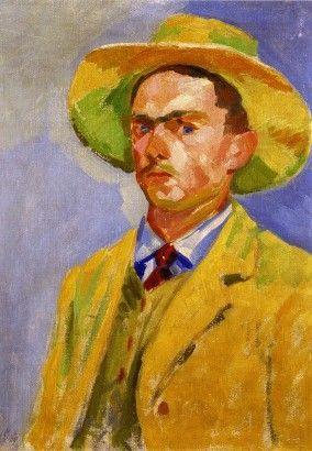 Václav Špála Vlastní podobizna 1909