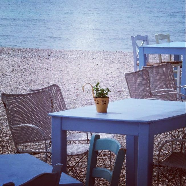 Today we'll be having #lunch on the beach. #loveit #athens #athensriviera
