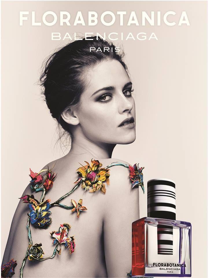 "Kristen Stewart - Kristen for Balenciaga, Take Two - Balenciaga ""Florabotanica"" Fragrance Ad 2013 Craig McDean www.artandcommerce.com via balenciaga.com  for #compostion #motion"