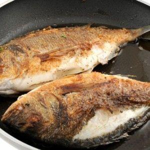 Fried Sea Bream