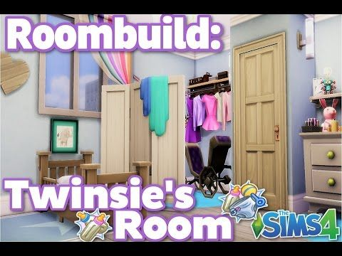 The Sims 4: Roombuild- Twinsie's bedroom!
