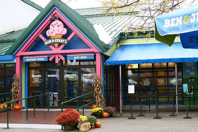 Ben and Jerry's Vermont
