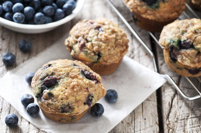 6 Low Sugar Breakfast Muffins With More Protein Than An Egg Livestrong Com Blue Berry Muffins Muffin Recipes Blueberry Recipes