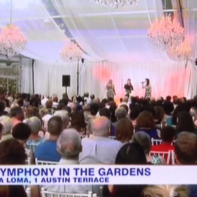A little clip from our show at #CasaLoma that was featured on #CityTV this past August.