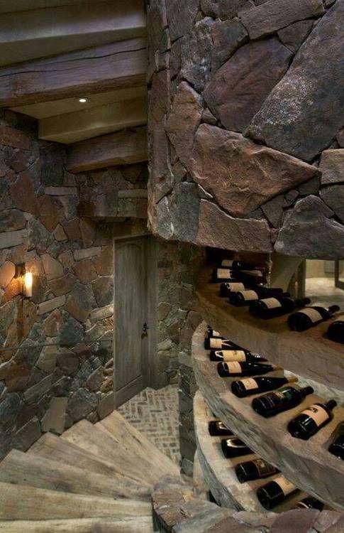 "Stairway to the wine cellar... www.LiquorList.com ""The Marketplace for Adults with Taste!"" @LiquorListcom   #LiquorList"