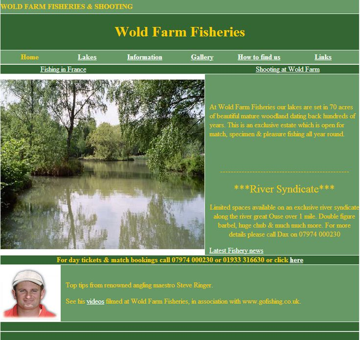 Wold Farm Fisheries - At Wold Farm Fisheries our lakes are set in 70 acres of beautiful mature woodland dating back hundreds of years. This is an exclusive estate which is ... Check more at http://carpfishinglakes.com/item/wold-farm-fisheries/