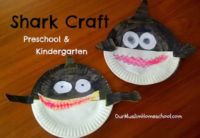 Shark Craft for Kindergarten and Preschool Awesome