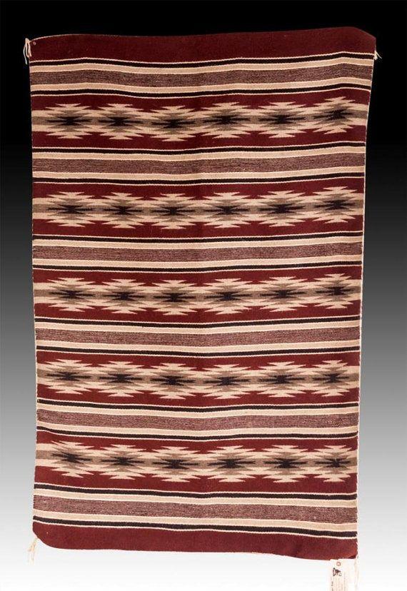 Native American Navajo Wide Ruins Weaving by Marleen Begay, Ca 1970's, #1041