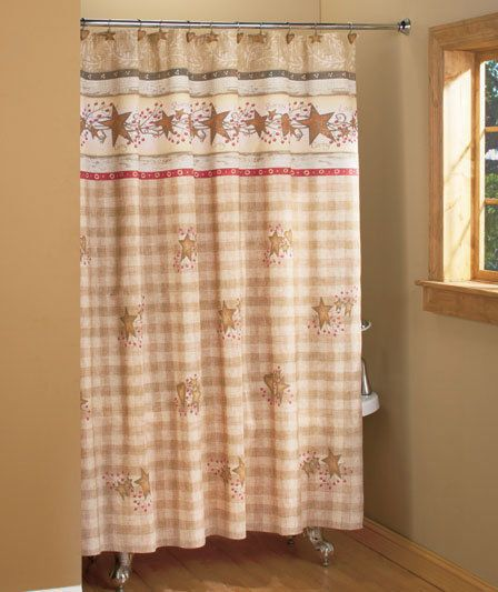Best Shower Curtains Etc Images On Pinterest Curtains - Country shower curtains for the bathroom for bathroom decor ideas
