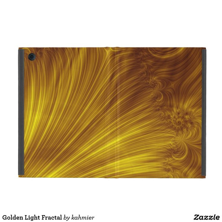 Golden Light Fractal Cases For iPad Mini  15% Off #leatherwooddesign
