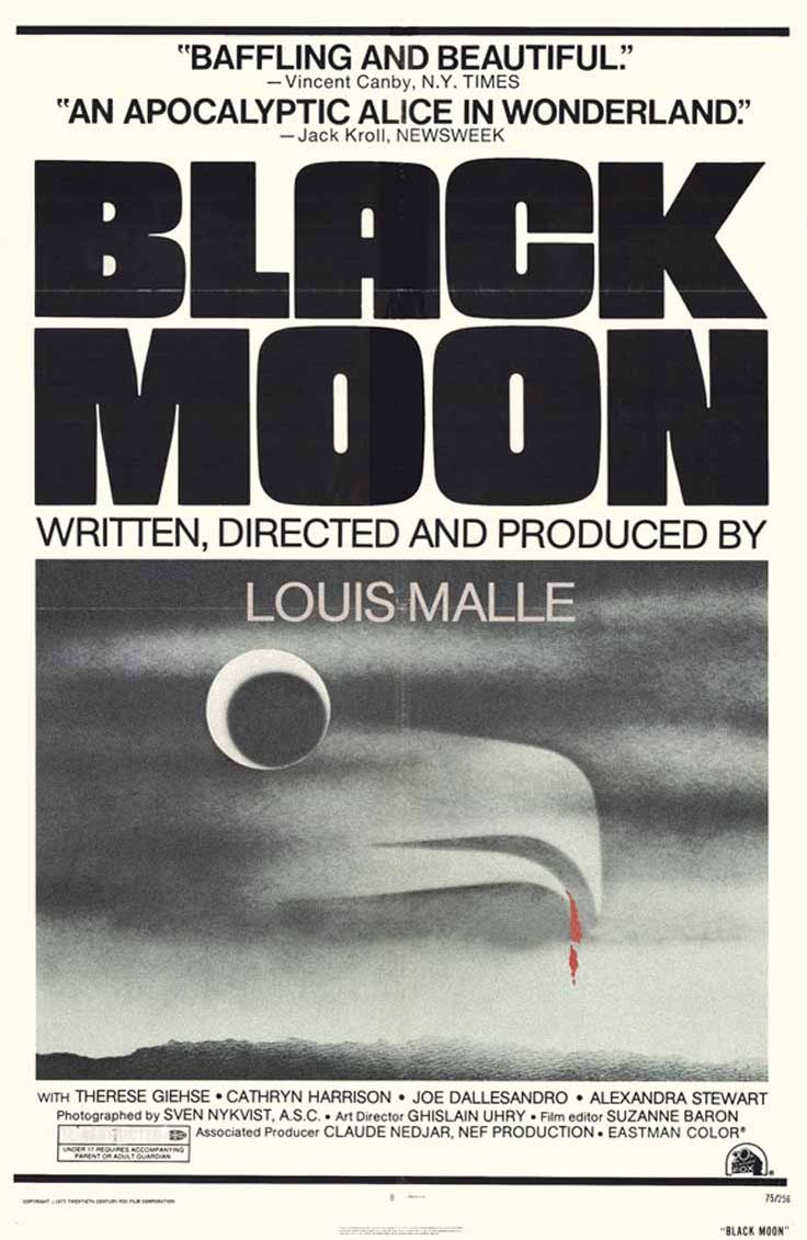black moon louis malle - Google Search