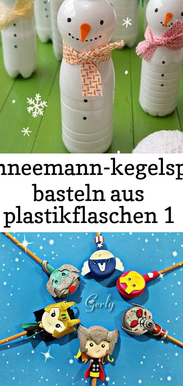 Schneemann Kegelspiel Basteln Aus Plastikflaschen 1 Diaper Cake Children Diaper