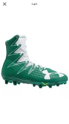 finest selection dda12 41a67 Under Armour UA MC Highlight Football Lacrosse Cleats Size Mens Size 10  Green (eBay Link)