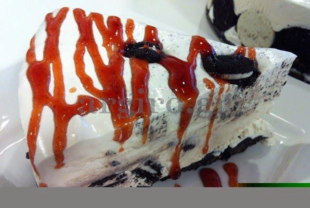 Daddy Cool!: Φανταστική τούρτα παγωτό oreo από την Αργυρω!