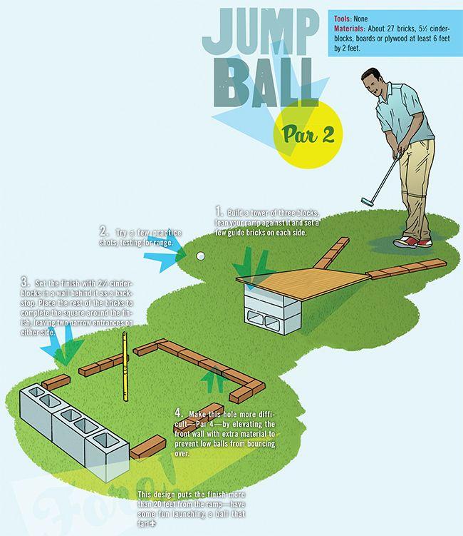10 Best Mini Golf Back Yard Ideas Images On Pinterest Miniature
