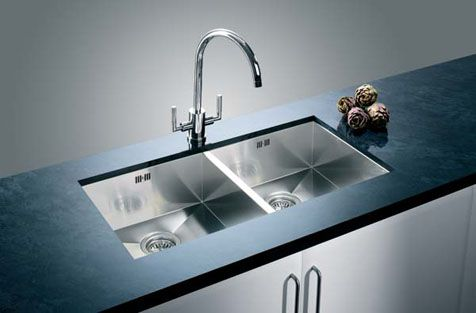 Blanco sink- BlancoZerox 400/400-U