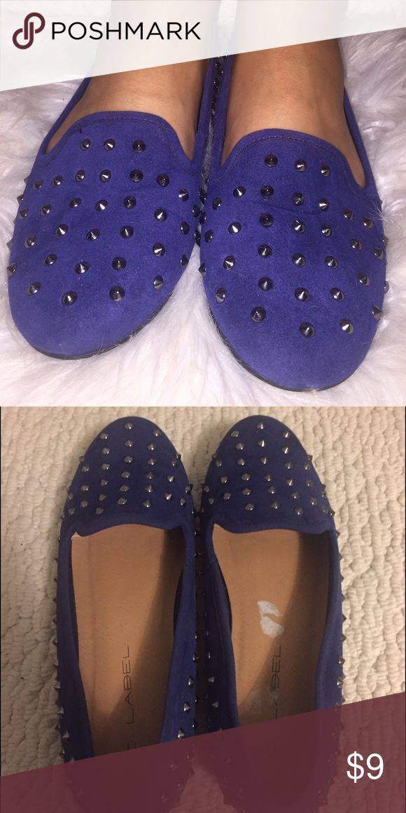 Studded Loafers barely worn! Shoes Flats & Loafers
