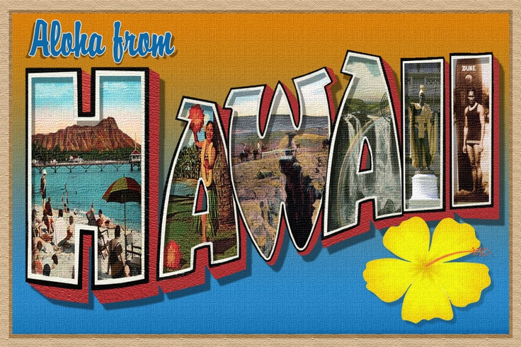 Aloha from Hawaii New Large Letter Postcard Limited Edition of 100 Signed | eBay