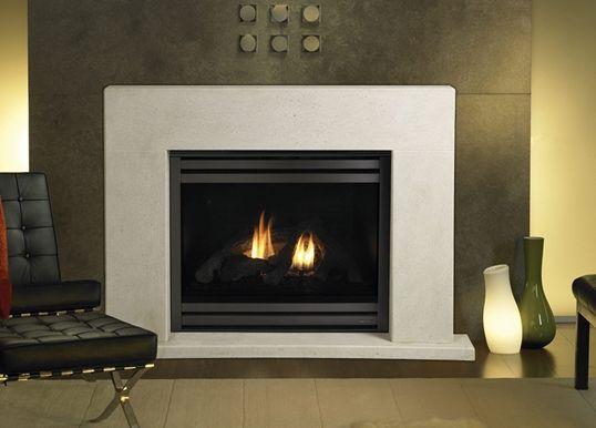 heat n glo - Luna cast surround/mantel
