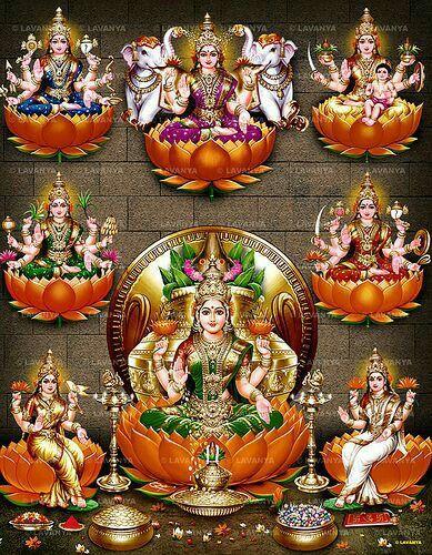 I always pray god lakshmi