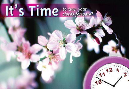 ReaMark Realtor Spring Time Change Postcards - Monthly Real Estate Prospecting Postcards
