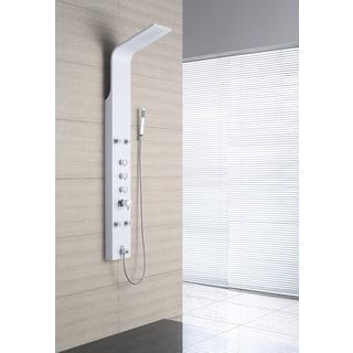 Shop for OVE Decors OSC-23 4-Jet Shower Tower System in White. Get free shipping at Overstock.com - Your Online Home Improvement Outlet Store! Get 5% in rewards with Club O! - 17177011