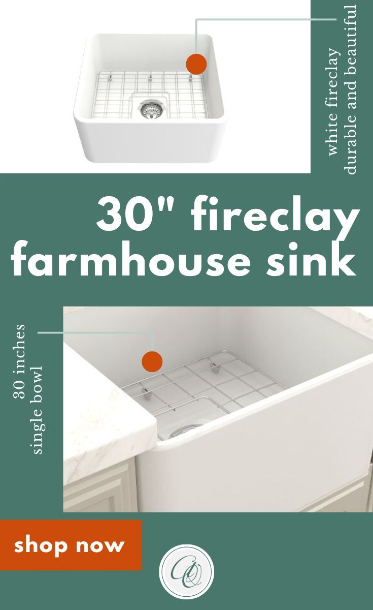 Bocchi Classico Matte White 30 Single Bowl Fireclay Farmhouse Sink With Free Grid In 2020 Fireclay Farmhouse Sink Farmhouse Sink Kitchen Farmhouse Sink