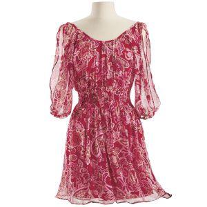 Cinnabar Paisley Dress - New Age & Spiritual Gifts at Pyramid Collection