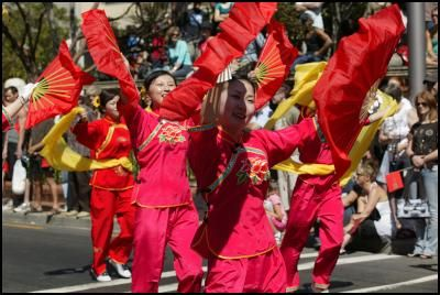 Chinese New Year celebrations in Wellington.