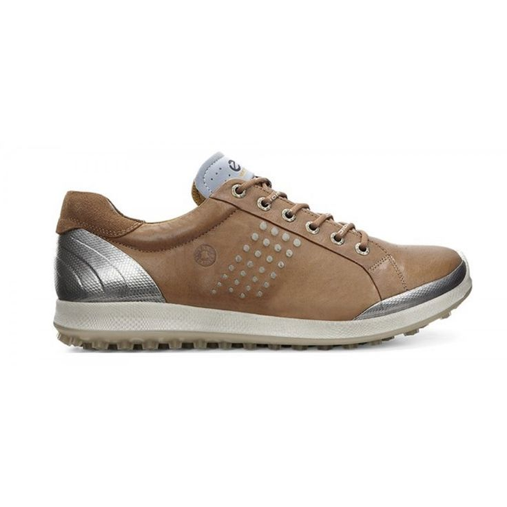 Ecco Biom Hybrid 2 151514-59399 Camel/Oyster Men's Golf Shoe from  @golfskipin