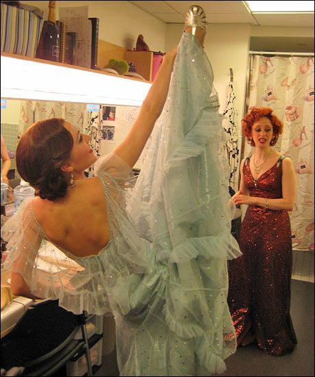 Anything Goes, Backstage. Laura Osnes.