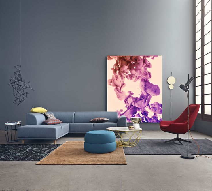 The new Hannah sofa, Comb coffee table and Pluto lamp. They're all ready for collection launch 4/8.