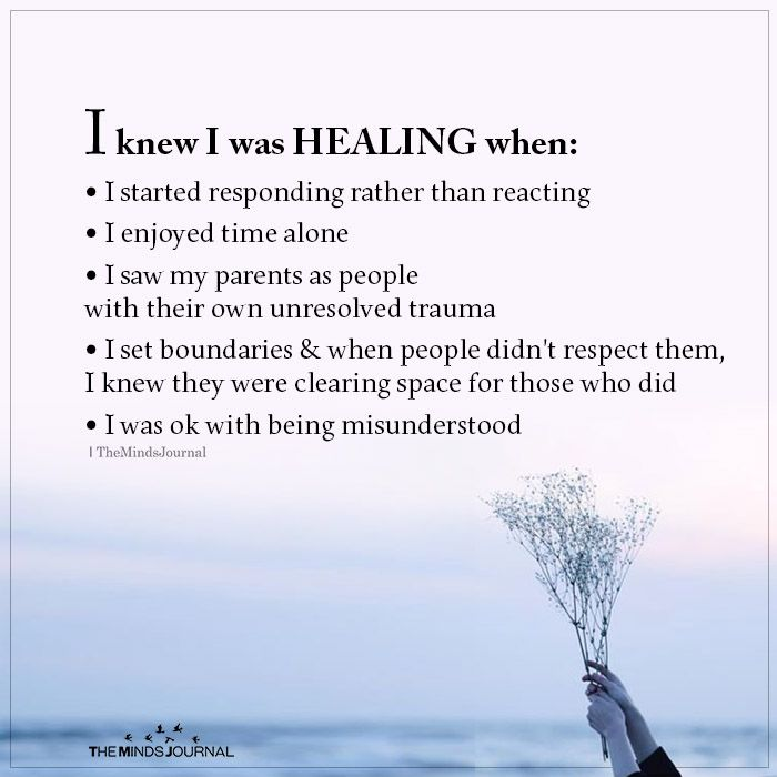 I Knew I Was Healing When I Started Responding Rather Than Reacting In 2020 Self Healing Quotes Healing Quotes Emotional Healing