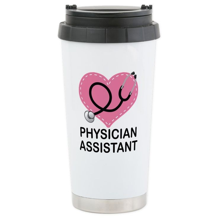 CafePress - Physician Assistant gift Travel Mug - Stainless Steel Travel Mug, Insulated 16 oz. Coffee Tumbler >>> Click image to review more details. (This is an affiliate link and I receive a commission for the sales)