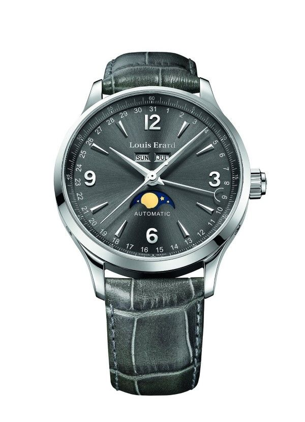 Louis Erard 1931 Collection Swiss Automatic Grey Dial Men's Watch 31218AA03.BDC36