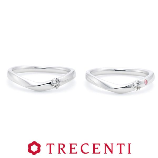 結婚指輪・婚約指輪の口コミ [review_count]件以上!TRECENTI(トレセンテ)の結婚指輪【モダンハート マリッジリング プラチナ】の商品情報や口コミをご紹介しています。また全国の取扱ショップもご案内しており、購入をご検討されている方はぜひご覧ください!