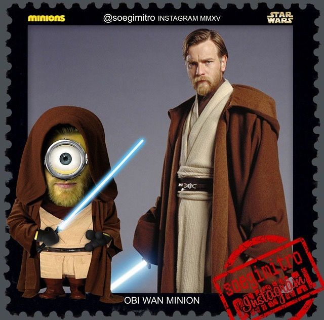 Famous Obi Wan Quotes: 17 Best Images About Minions On Pinterest