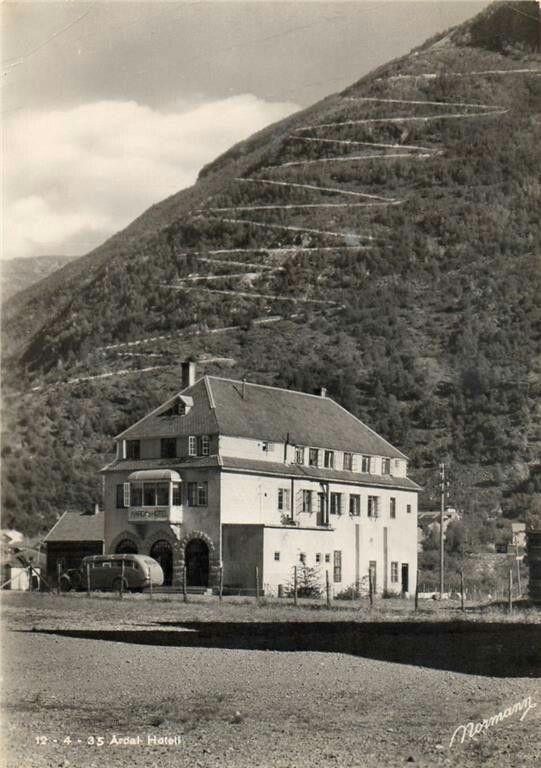 Årdal Hotell 1940/50-tallet Normann