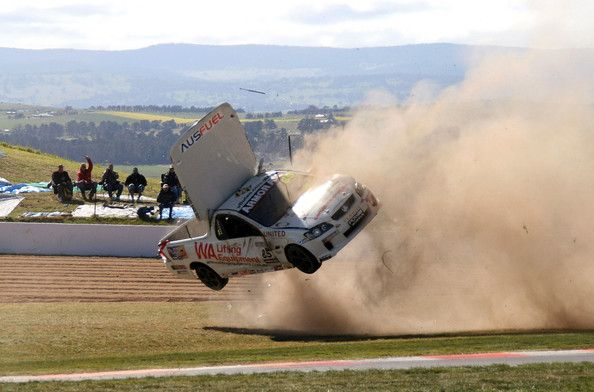 Allan Letcher In Supercars Bathurst Practice Top