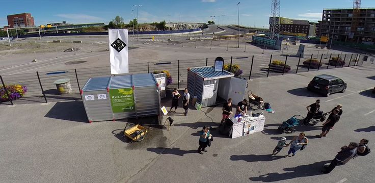 24 hour local services in energy self-sufficient Smart Containers in Kalasatama, Helsinki