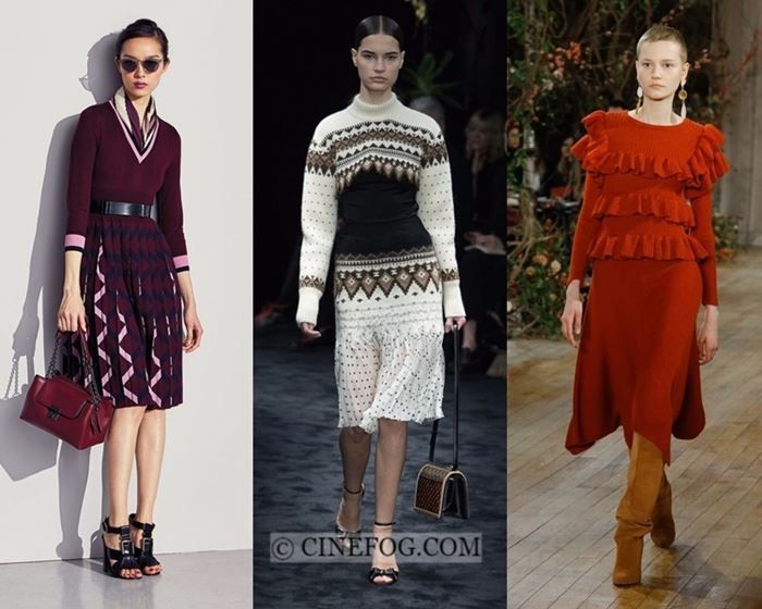 Dresses Fall Winter 2017 2018 Fashion Trends Warm Knit