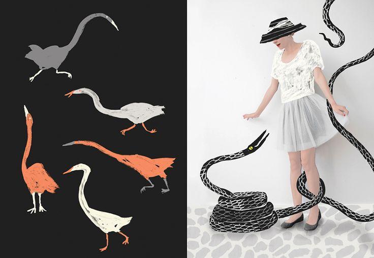 Danielle Kroll | Happy Wednesdays #whimsical #illustration