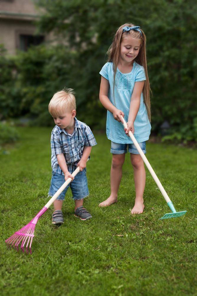 Narzedzia Ogrodnicze Dla Dziecka Grabie Woodyland Garden Tools Outdoor Power Equipment Pepitas