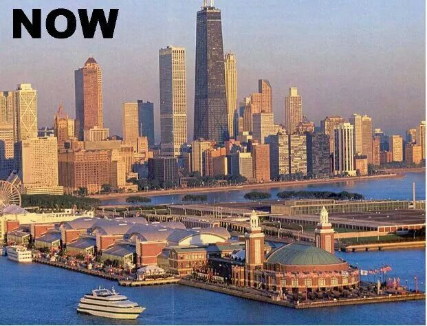 Chicago pier now