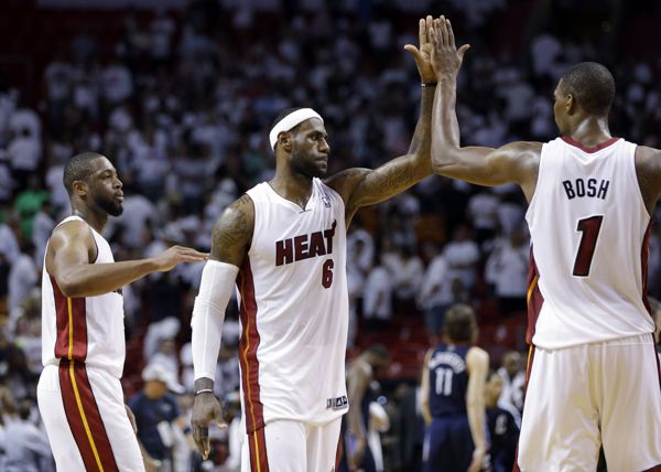 Dwyane Wade, Chris Bosh, Udonis Haslem entering free agency in hope of keeping LeBron James in Miami