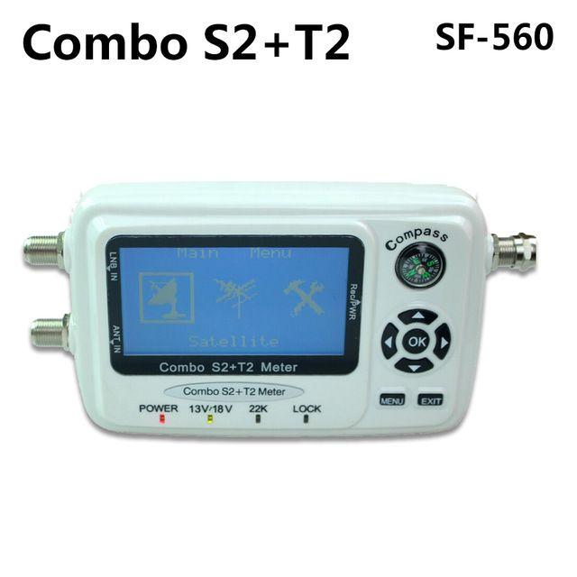 SZ SF-560 SF560 Digital Satellite Signal Meter Sat Dish