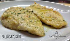 Il pollo saporito è un secondo piatto, leggero e semplice che possiamo preparare in pochi minuti. Una manciata di ingredienti, del petto di pollo e...